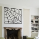 Spiderweb Halloween Wall Decal
