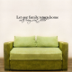 Let Our Family Return Home... Wall Art Vinyl Decal Sticker Quote