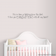 You've Been a Blessing Wall Decal