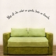 May All Who Enter As Guests, Leave As Friends Wall Art Vinyl Decal Sticker Quote