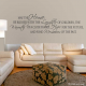 May this wall decal quote