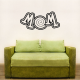 Mom 2 Wall Art Vinyl Decal Sticker Quote