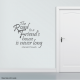 The Road To A Friend's House Is Never Long Wall Art Vinyl Decal Sticker Quote