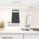 Be Grateful - Cheese Grater - Wall Decal