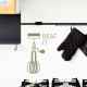 Beat It - Egg Beater - Wall Decal