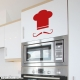 French chef hat wall decal