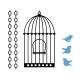 Birdcage Cut Sample