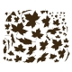 Falling Leaves Wall Decal Quote Sticker