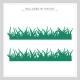 Grass Wall Art Vinyl Decal Cut Sample