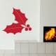 Holly Leaves Wall Decal
