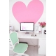 deluxemodern design heart  wall art decals