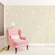 2 Color Polkadot Wall Decals