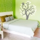 Squirrel and oak tree wall decal
