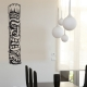 Tiki totem wall decal