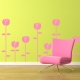 Spring Tulips wall decal