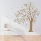 Wavy Tree Wall Decal