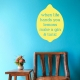 When life hands you lemons wall decal