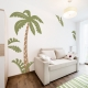 Jungle Palm Scene Wall Decal