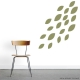 Wall Decal Leaves - Set Ten