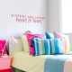 Sisters Joined Wall Quote Decal