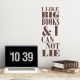 Big Books Wall Decal Brown