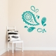 Pretty Paisley Wall Decal