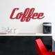 Retro Coffee Wall Decal