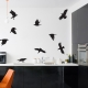 Black Crows Wall Decal