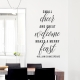 Merry Feast Wall Decal