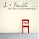 Just Breathe Decal