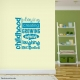 Childhood Wall Quote Decal