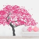 Japanese Maple Tree Wall Decal