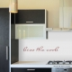 Kiss the Cook Wall Quote Decal