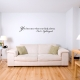 You become what you think about Wall Decal