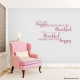 Thankful People Wall Quote Decal