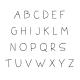 Doodle Letter Name Frames - Letter Sample