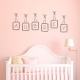 Custom Letter Name Frames Wall Decal