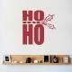 Ho Ho Ho Wall Decal