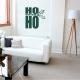Ho Ho Ho Wall Quote