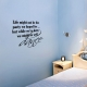 Life Might Not Be...Wall Art Decal
