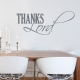 Thanks Lord Wall Decal