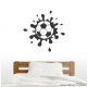 Muddy Soccer Ball Wall Art Decal