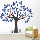 Two Birds in a Tree Wall Decal