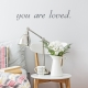 Brie Calligraphy - Custom Text Wall Decal