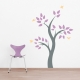 Hummingbird Tree Wall Decal