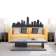 Indianapolis Indiana Skyline Vinyl Wall Art Decal