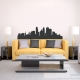 Minneapolis Minnesota  Skyline Vinyl Wall Art Decal