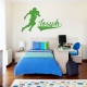 Football Player Wall Art Decal