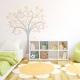 Swirly Butterfly Tree Wall Art Decal