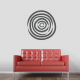 Abstract Circle Wall Art Decal